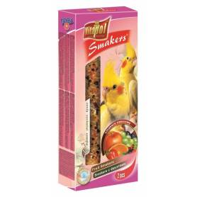 Smakers® - Barritas de Fruta para Ninfas, 2uds, 90g