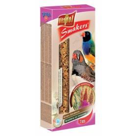 Smakers® - Barritas de Semillas para Pájaros Exóticos, 2uds, 60g