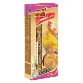 Smakers® - Barritas de Miel para Canarios, 2uds, 65g