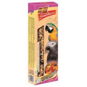 Smakers® - Barritas XXL de Fruta y Nueces para Loros, 2uds, 250g
