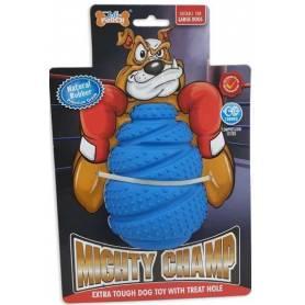 Mighty-Champ Roller - Mordedor de goma resistente con aroma a vainilla(Ø6,1x8,7cm)