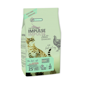 The Natural Impulse Cat Sterilized 2 kg