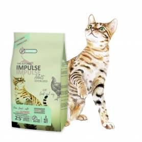 The Natural Impulse Cat Sterilized 8 kg