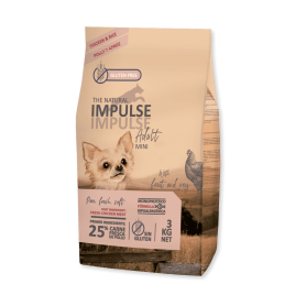 The Natural Impulse Dog Mini Chicken 3 kg