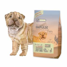 The Natural Impulse Dog Puppy Chicken 12 kg