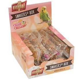 Smakers® Box - Barritas de Frutas para periquitos, 12uds, 540g