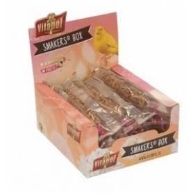 Smakers® Box - Barritas de Frutas para canarios, 12uds, 360g