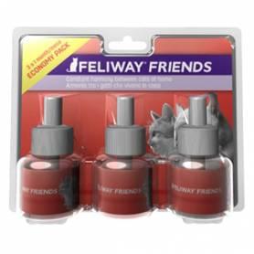TRIPACK AHORRO Feliway Friends Recambio 3x48 ml