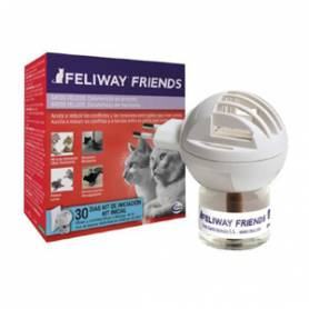 Feliway Friends Difusor + Recambio 48 ml