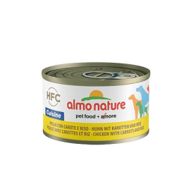 AlmoNature Perro Pollo con Zanahorias y Arroz 95g