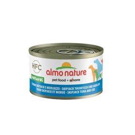 AlmoNature Perro Atún Skipjack and Cod 95g