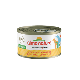 AlmoNature Perro Filete de Pollo 95g