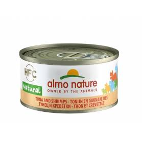 AlmoNature Gato Atún y Gambas 70g