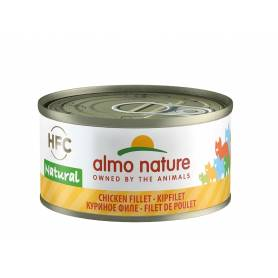 AlmoNature Gato Filete de Pollo 70g