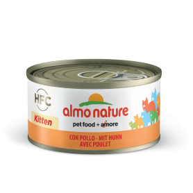 AlmoNature Gato Kitten Pollo 70g