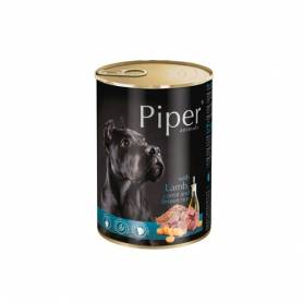 PIPER - Cordero, zanahoria y arroz integral 400gr