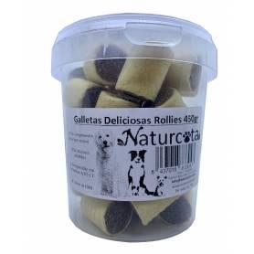 Galletas Deliciosas Rollies 450 gr