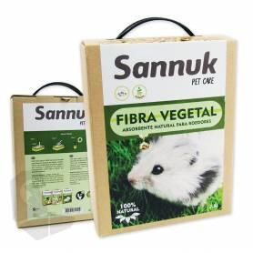 Fibra Vegetal para Roedores 2,5L (1,8kg) Sannuk
