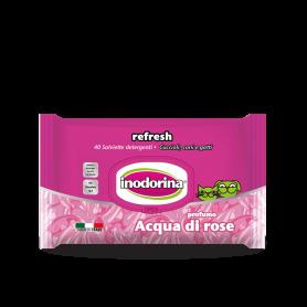 Inodorina Toallitas Acqua di Rose 40 uds.