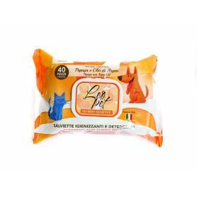Toallitas Leo Pet 40uds. · Papaya y Aceite de Argan