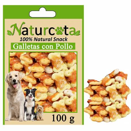 Galletas con Pollo 100gr