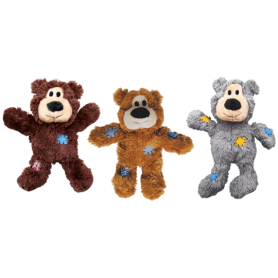 Kong WildKnots Bears Medium/Large Pack de 3 unidades
