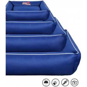Cama SUPERPREMIUM con cremallera, desenfundable y lavable - Azul Marino 75 × 60cm