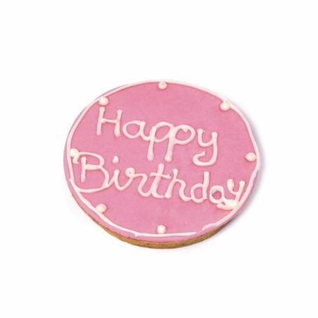 Tarta de cumpleaños Rosa140gr (Vela incluida)