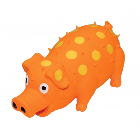 Cerdo Naranja en Latex 12,5 Cm