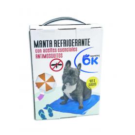 Manta Refrigerante Repelente de Insectos 40x50cm