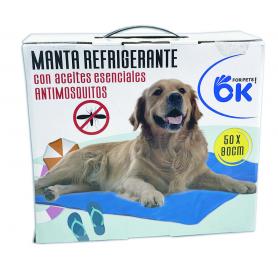 Manta Refrigerante Repelente de Insectos  50x90cm