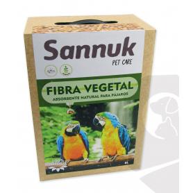 Fibra Vegetal para Aves 8L (5,5kg) Sannuk