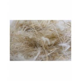 Nido hamster sisal, yute y algodón 50g