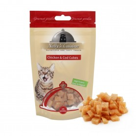 Chicken & Cod Cubes 65gr