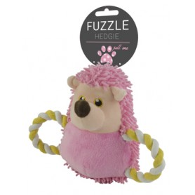 Fuzzle Hedgie Pull Me Pink (15cm)