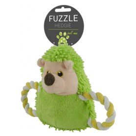 Fuzzle Hedgie Pull Me Green (15cm)