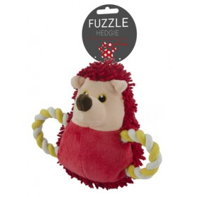 Fuzzle Hedgie Pull Me Red (15cm)