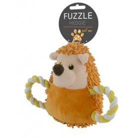 Fuzzle Hedgie Pull Me Orange (15cm)
