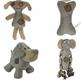 Surtido Peluches Country Dog (3udx4Ref) 12 Peluches